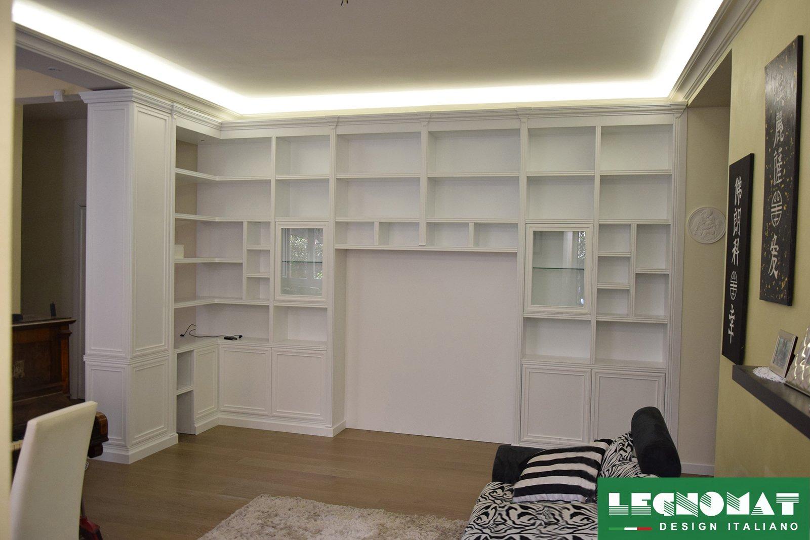 Librerie classiche su misura