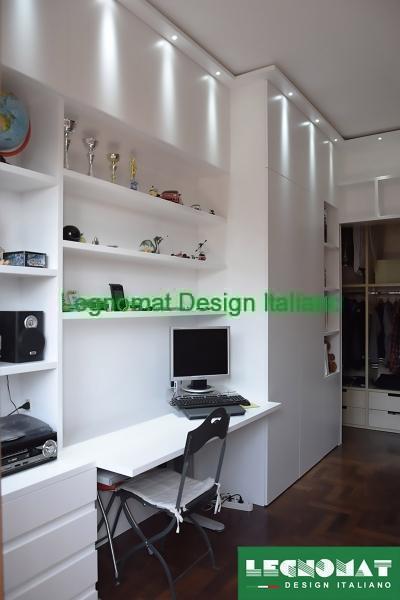 Camere da letto su misura roma legnomat design italiano for Negozi camere da letto roma