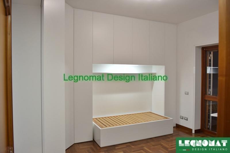 Camera da Letto Su Misura Roma Classica e Moderna - Legnomat ...