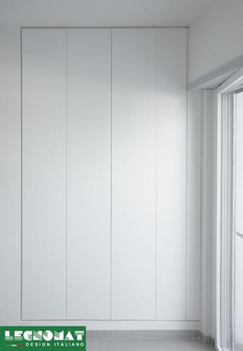 Armadio Laccato Bianco - Legnomat Design Italiano
