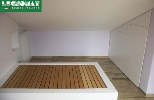 Arredamenti per Mansarde su Misura - Roma - Camera da letto