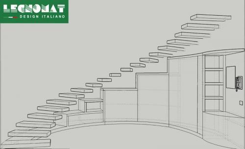 Soluzioni progettuali per interni legnomat arredamento for Misura arredamenti