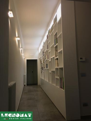 Librerie Moderne su Misura Roma - Legnomat Design Italiano