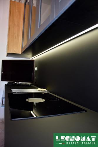 Cucina su Misura in Rovere - Legnomat Design Italiano